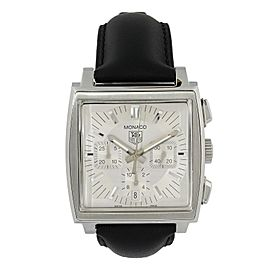 Tag Heuer Monaco CW2112 Chronograph Mens Watch