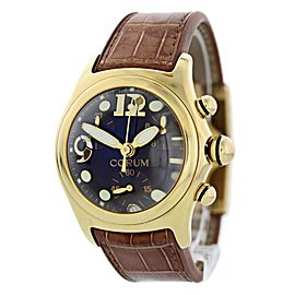 Corum Bubble Chronograph 396.150.56 18k Yellow Gold Mens Watch