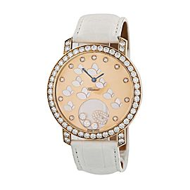 Chopard Happy Diamonds Happy Time Butterfly 207450 Rose Gold