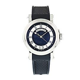 Breguet Marine Dual Time 5857ST/12/5ZU Mens Watch