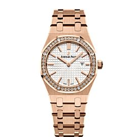 Audemars Piguet Royal Oak 67651OR.ZZ.1261OR.01 Ladies Watch NEW