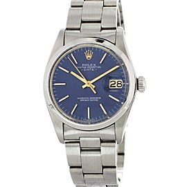 Rolex Oyster Perpetual Date 15000 Mens Watch