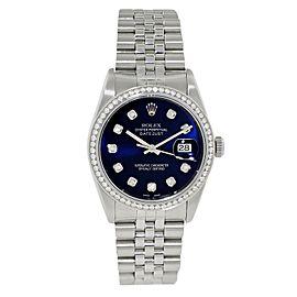 Rolex Datejust 16234 Diamond Men Watch