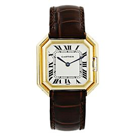 Cartier Ceinture W4598 18k Yellow Gold Ladies Watch