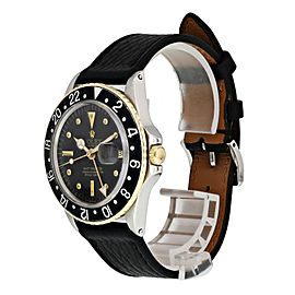 Rolex GMT Master Date 16753 Nipple Dial Mens Watch