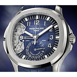 Patek Philippe Aquanaut Travel Time 5650G-001 Advanced Research Mens Watch.