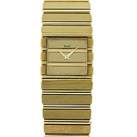 Piaget Polo 7131 C701 18K Yellow Gold Quartz Watch