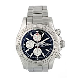 Breitling Super Avenger II A13371 Men Watch Original Papers