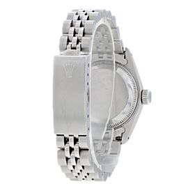 Rolex Datejust 69174 Diamond Dial Ladies Watch