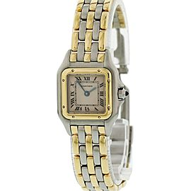 Cartier Panthere 1057917 3 Row Ladies Watch Original Box