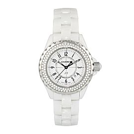 Chanel J12 Diamond Bezel H0969 Ceramic Ladies Watch