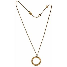 Bulgari Bulgari 18k rose gold diamond necklace