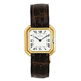 Cartier Paris 18k Yellow Gold Vintage Ladies Watch