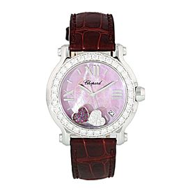 Chopard Happy Sport Happy Heart 278475-2002 Limited Edition 500 Ladies Watch