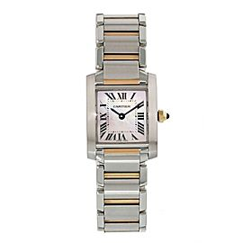 Cartier Tank Francaise 2384 MOP Dial Ladies Watch