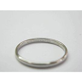 Tiffany & Co Lucida Platinum Wedding Band Ring Size 9.75