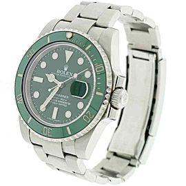 Rolex Submariner Hulk Ceramic Green Bezel/Dial 40mm Steel Watch 116610