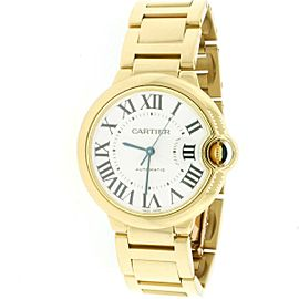 Cartier Ballon Bleu Midsize 36mm Yellow Gold Automatic Watch W69003Z2