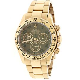 Rolex Cosmograph Daytona Everose Chocolate Dial 40mm Watch 116505 Box Papers