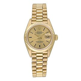 Rolex Datejust 69178 Yellow Gold Ladies Watch