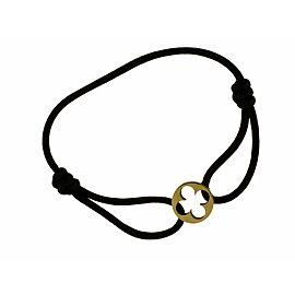 Louis Vuitton brown cord bracelet in 18k Yellow Gold