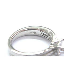 Ritani Platinum Diamond Semi Mount Ring .52Ct ( Round 1.00Ct-1.25Ct )
