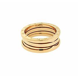 Bvlgari B.ZERO1 3 band ring in 18k rose gold AN852405 size 55 - USA 7.25