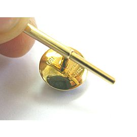 Tiffany & Co Mother of Pearl & Onyx Shirt Studs 18Kt Yellow Gold