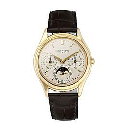 Patek Philippe Perpetual Calendar 3940 18k Yellow Gold Men's Watch