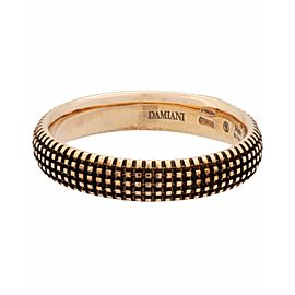 Damiani Metropolitan dream 1 diamond 5mm band ring in 18k rose gold size 10.5