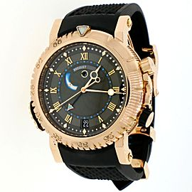 Breguet Marine Royale Alarm Rose Gold 45mm Automatic Watch 5847BR/32/5ZV