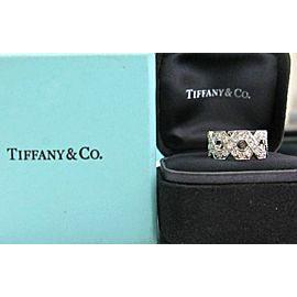 Tiffany & Co Platinum Hexagon Diamond Ring Size 4.5 1.20CT