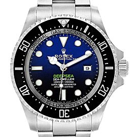Rolex Seadweller Deepsea Cameron D-Blue Steel Watch 116660 Box Card