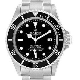 Rolex Seadweller 40 Black Dial Steel Mens Watch 16600 Box
