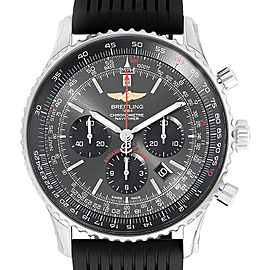 Breitling Navitimer 01 Stratos Gray Dial LE Mens Watch AB0127 Unworn