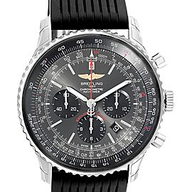 Breitling Navitimer 01 Stratos Gray Dial LE Steel Watch AB0127 Unworn