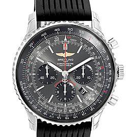 Breitling Navitimer 01 Stratos Gray Dial LE Steel Watch AB0127 Unworn