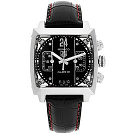 Tag Heuer Monaco 24 Black Dial Chronograph Mens Watch CAL5113