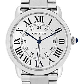 Cartier Ronde Solo XL 42mm Automatic Steel Mens Watch W6701011