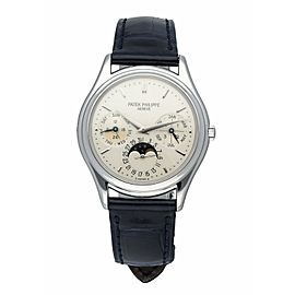 Patek Philippe Perpetual Calendar 3940P With Archive Papers