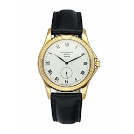 Patek Philippe Tiffany & Co. Calatrava 5115 Yellow Gold Watch