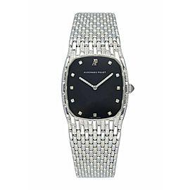 Audemars Piguet White Gold Diamond Bracelet Watch
