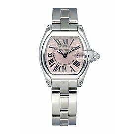 Cartier Roadster 2675 Pink Dial Ladies Watch