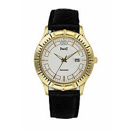 Piaget Polo 24010 M 501 D 18K Yellow Gold Men's Watch