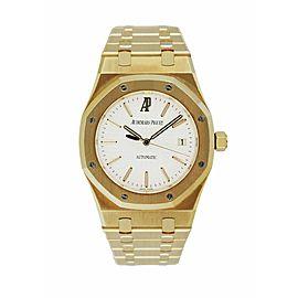 Audemars Piguet 15300BA Royal Oak 18K Yellow Gold Men's Watch