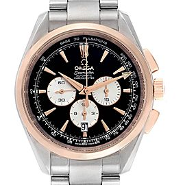 Omega Seamaster Aqua Terra Steel Rose Gold Mens Watch 221.20.42.40.01.002