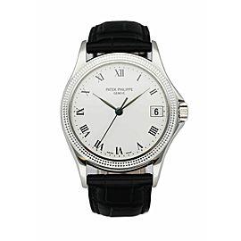 Patek Philippe Calatrava 5117G 18K White Gold Men's Watch