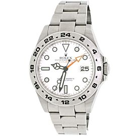 Rolex Explorer II 42MM White Dial Polar Stainless Steel Oyster Watch