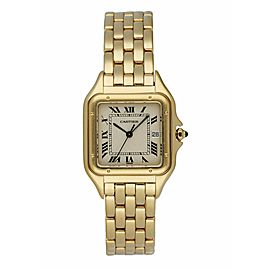Cartier Panthere 887968 18k Yellow Gold Large Watch