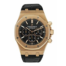 Audemars Piguet Royal Oak 26320OR 18K Rose Gold Chronograph Men's Watch